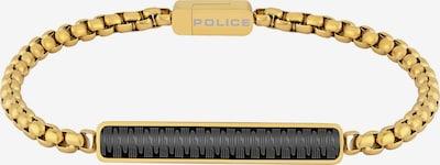 POLICE Armband in gold / schwarz, Produktansicht