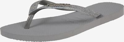HAVAIANAS Slipper 'Glitter' in grau / silbergrau, Produktansicht