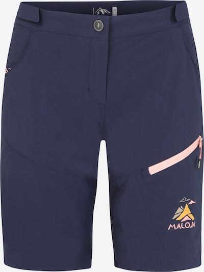 Maloja Pantalon outdoor 'Roschia' en bleu nuit, Vue avec produit