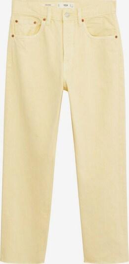 MANGO Jeans in pastellgelb, Produktansicht