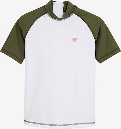 NEXT Shirt in khaki / weiß, Produktansicht