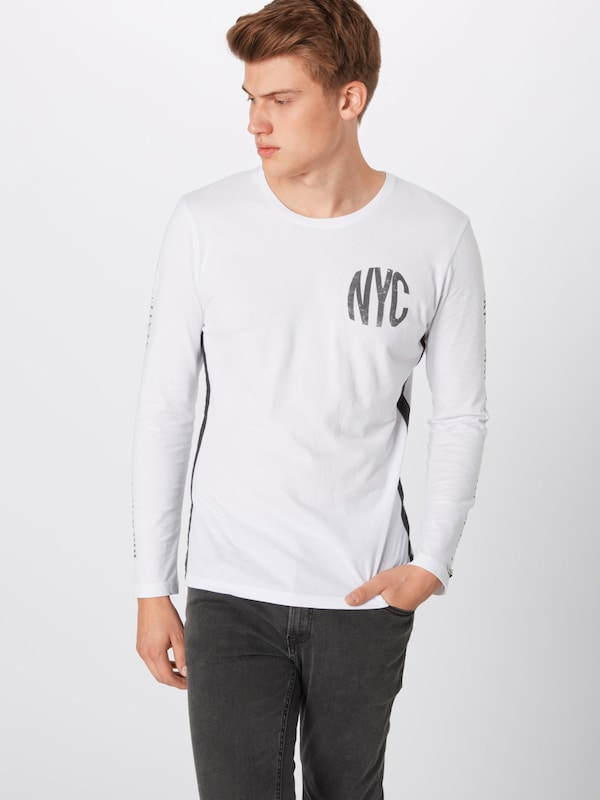 'mls Gris shirt T Largo District Key Round' FoncéBlanc En nv8m0ONw