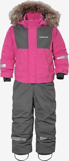 Didriksons Schneeanzug 'Tirian' in basaltgrau / pink, Produktansicht