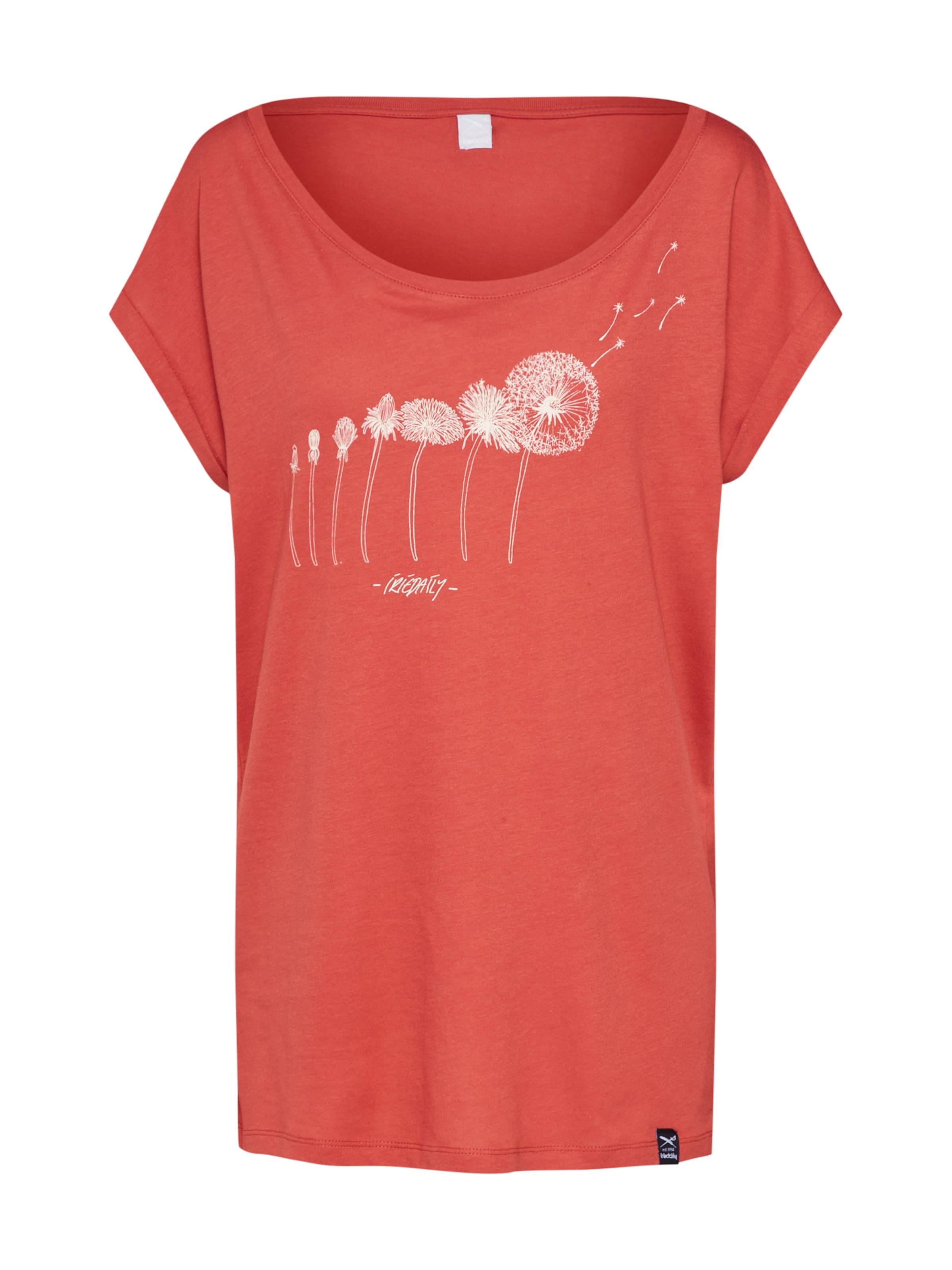 T 'evolution' Iriedaily Orangerot In shirt Nnv0wm8O