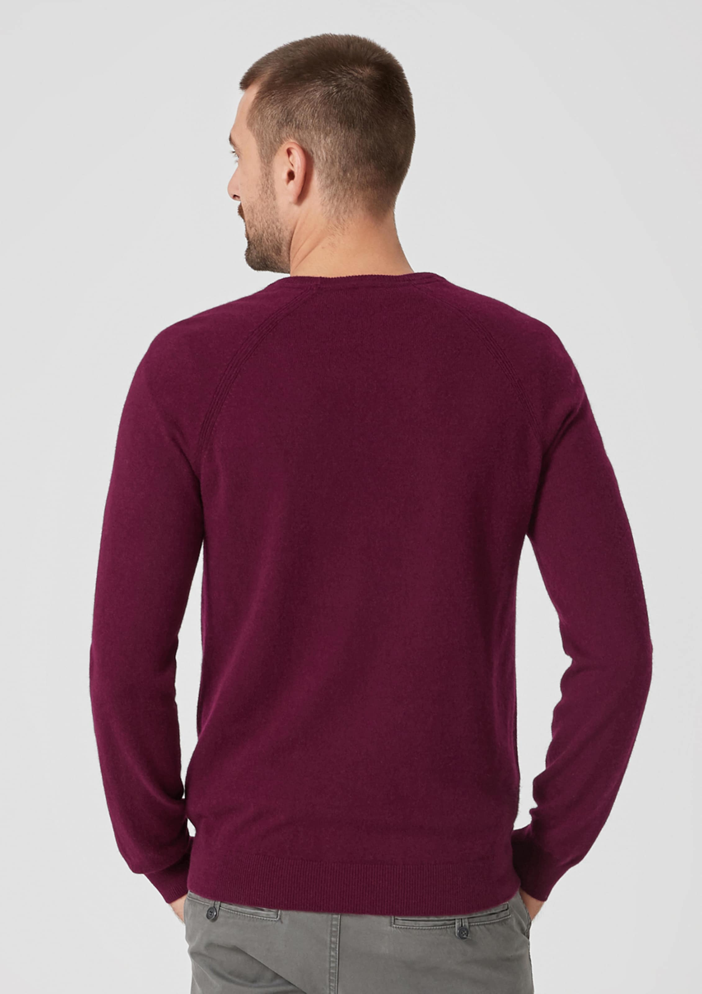 Label Red Pullover S oliver Rotviolett In OPuXZwkTi