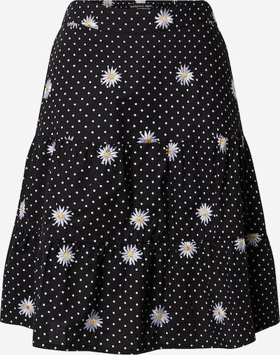Dorothy Perkins Rock 'Daisy' in gelb / schwarz / weiß, Produktansicht