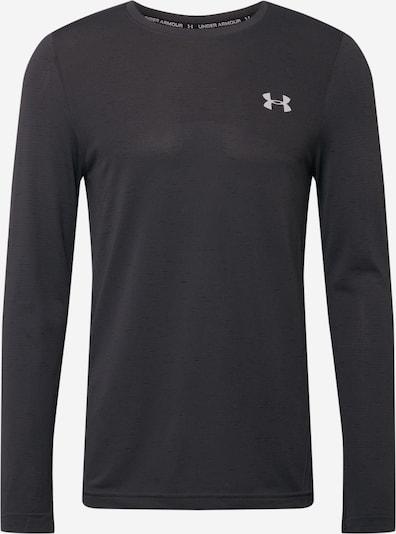 UNDER ARMOUR Sweatshirt 'UA Seamless' in de kleur Zwart, Productweergave