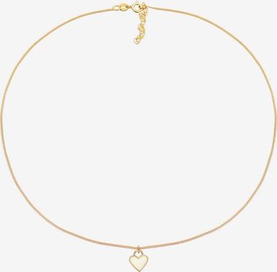 ELLI Kette 'Herz' in gold, Produktansicht