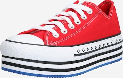CONVERSE Sneaker 'CTAS PLATFORM LAYER OX' in rot / schwarz / weiß, Produktansicht