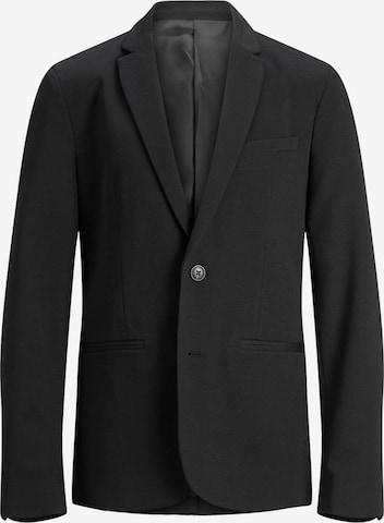 Jack & Jones Junior Knit Cardigan in Black