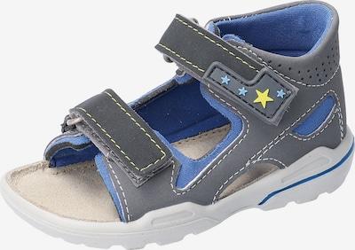 Pepino Sandale 'Manto' in blau, Produktansicht