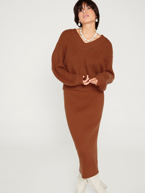 En 'mathilda' Pull over Edited Rouille IeWE9HY2D