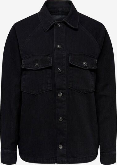 ONLY Tussenjas in de kleur Zwart, Productweergave