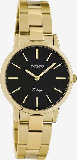 OOZOO Quarzuhr 'C20114' in gold / schwarz, Produktansicht