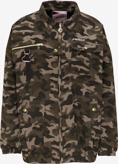 MYMO Jacke in hellbeige / khaki / oliv / schwarz, Produktansicht