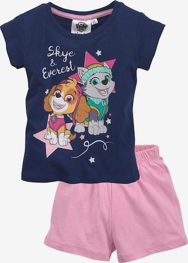 PAW Patrol T-Shirt & Shorts »SKYE & EVEREST« (Set, 2 tlg.) in lila / rosa, Produktansicht