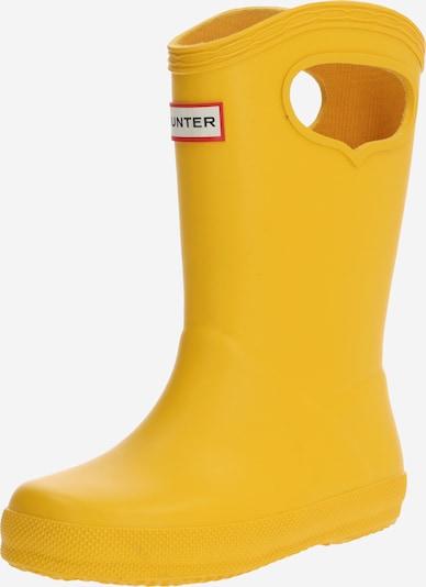 HUNTER Gumijasti škornji | rumena barva, Prikaz izdelka