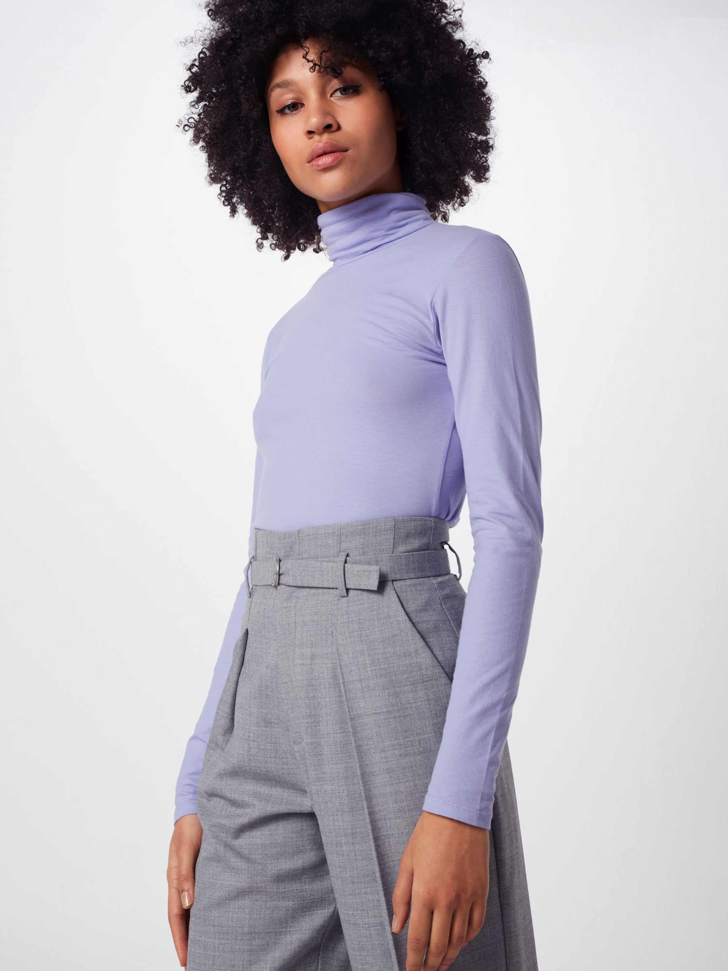 Pull 'poskunigunde over Roll Neck' Postyr Lilas En DYHE2I9W