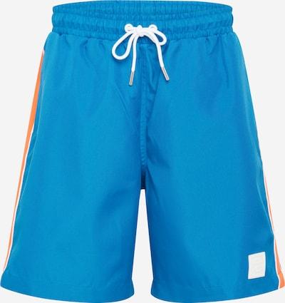 DIESEL Pantalon 'Keith' en bleu / blanc: Vue de face