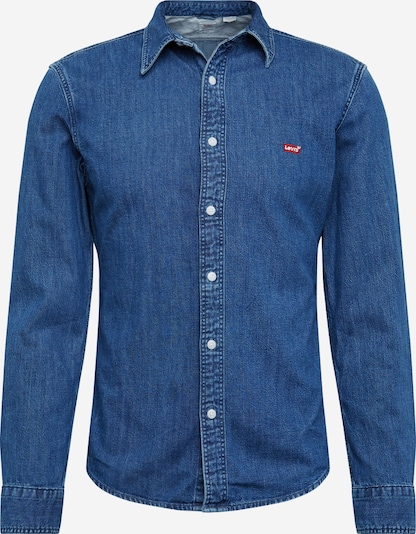 LEVI'S Hemden 'LS BATTERY HM SHIRT SLIM' in blau, Produktansicht