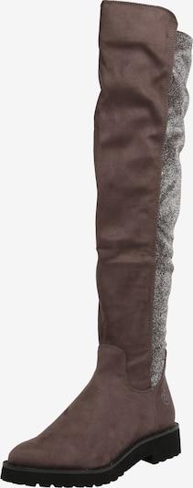 bugatti Stiefel 'Finja' in dunkelgrau / silber, Produktansicht