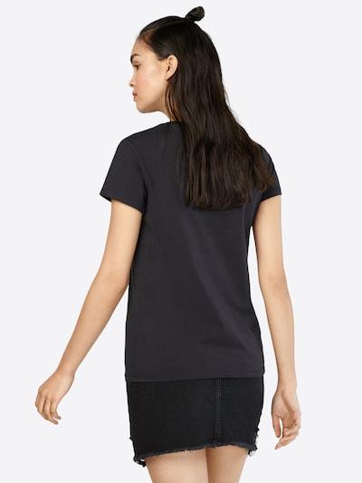 LEVI'S T-Shirt in feuerrot / schwarz / weiß: Rückansicht