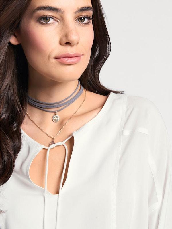 Linea Tesini by heine Bluse mit Bindebändern