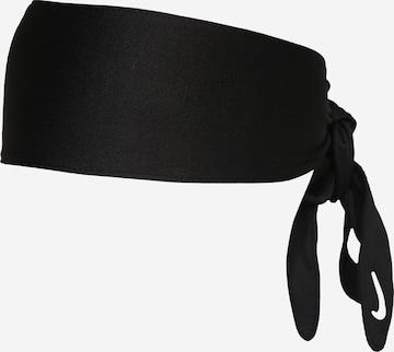 NIKEZnojnik za čelo - crna boja