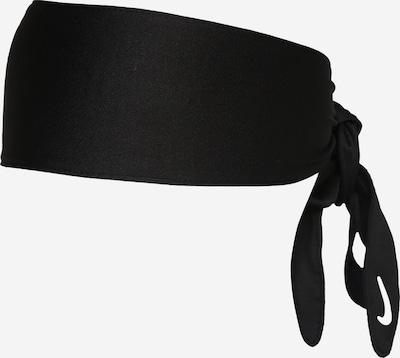 NIKE Bandeau de sport en noir / blanc, Vue avec produit