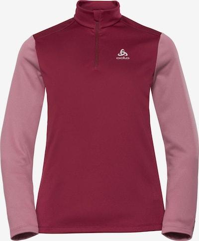 ODLO Pullover in rosa / blutrot, Produktansicht