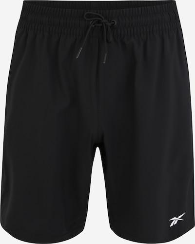REEBOK Sportbroek 'Wor Woven' in de kleur Zwart, Productweergave