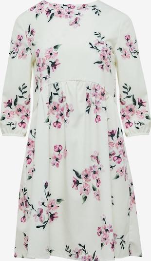 FELIPA Kleid in tanne / rosa / altrosa / dunkelpink / weiß, Produktansicht