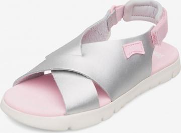 Sandales 'Oruga' CAMPER en argent