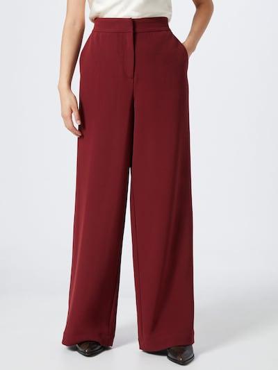 VERO MODA Spodnie 'Cameron' w kolorze czerwone winom: Widok z przodu