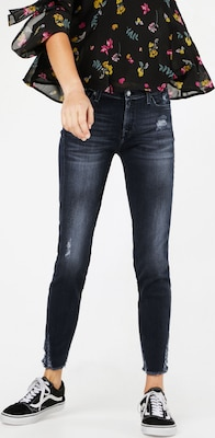 7 For All Mankind 'THE SKINNY CROP' Skinny Jeans