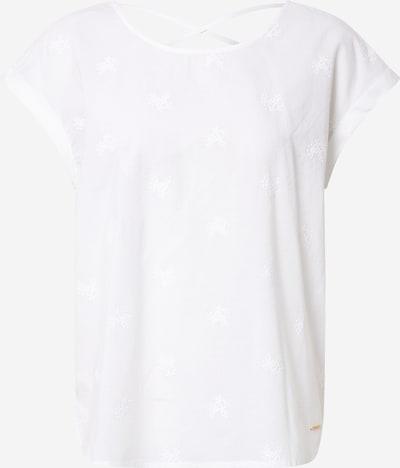 TOM TAILOR DENIM Bluse in weiß, Produktansicht