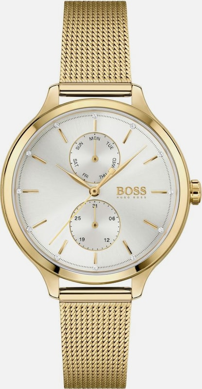 BOSS Multifunktionsuhr 'Purity' in gold, Produktansicht