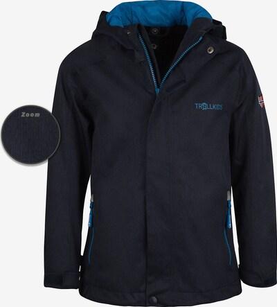 TROLLKIDS Regenjacke 'Nordfjord' in kobaltblau, Produktansicht