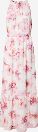 COMMA Kleid in mischfarben / weiß, Produktansicht