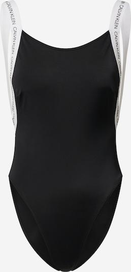 fekete Calvin Klein Underwear Fürdőruhák 'SCOOPED ONE PIECE', Termék nézet