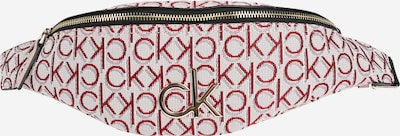 Calvin Klein Torba na pasek w kolorze beżowy / czerwonym, Podgląd produktu
