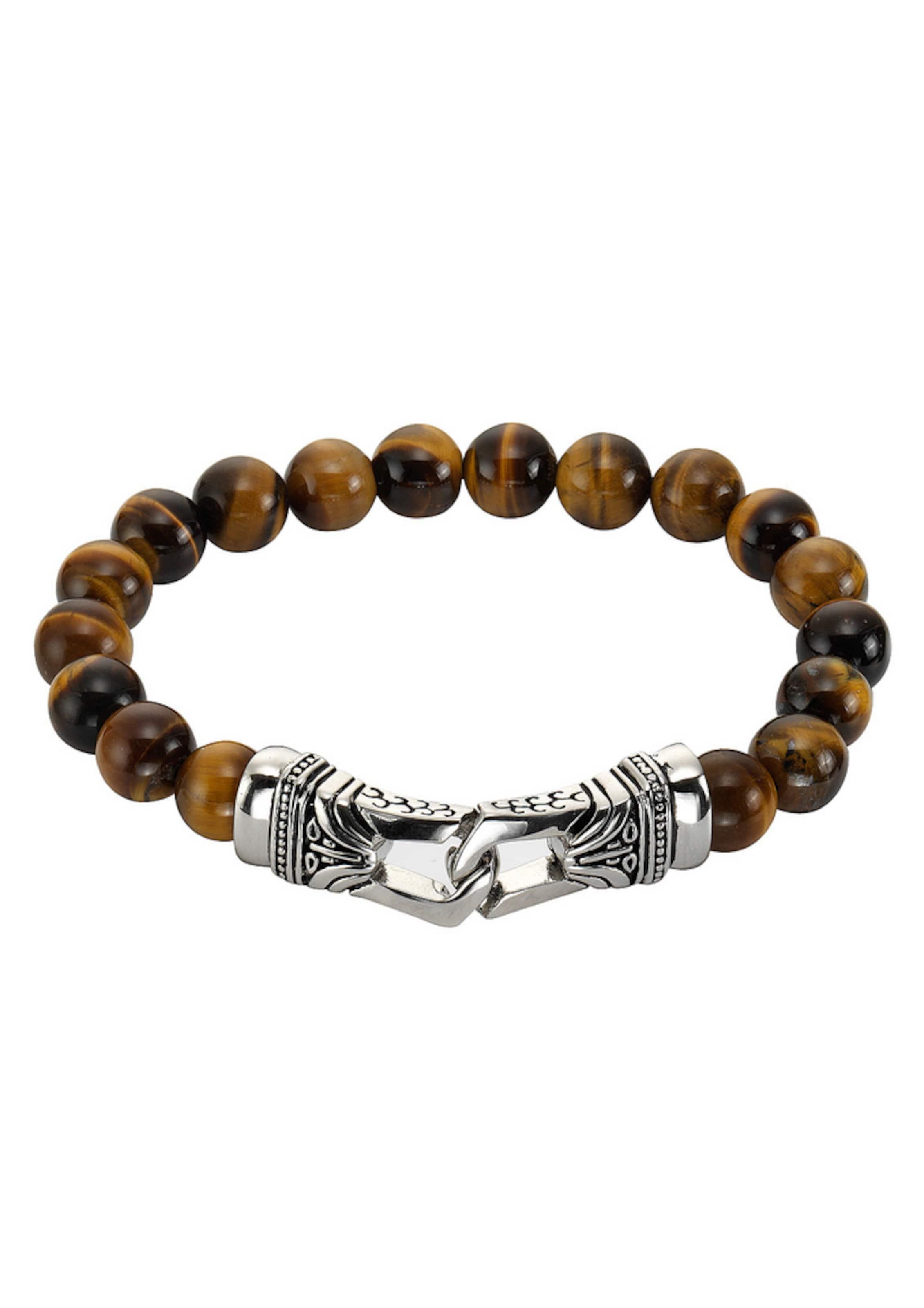 FIRETTI Stretch-Armband, »Tigerauge«