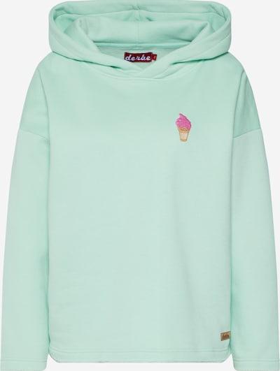 Derbe Sweat-shirt 'Ice Sweat' en menthe, Vue avec produit