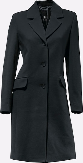 heine Between-seasons coat in black, Item view