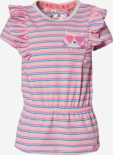 JETTE BY STACCATO Kleid in türkis / pfirsich / pink / weiß, Produktansicht