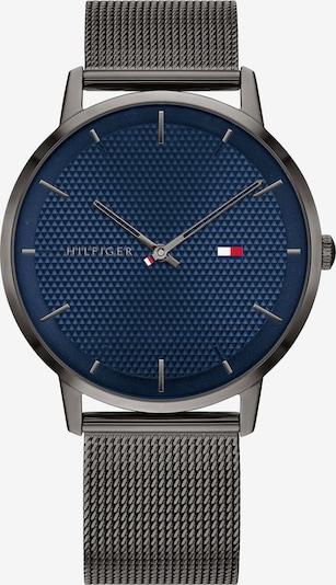 TOMMY HILFIGER Uhr in dunkelblau / dunkelgrau, Produktansicht