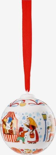 HUTSCHENREUTHER Dekohänger 'Weihnachtsmarkt' in weiß, Produktansicht