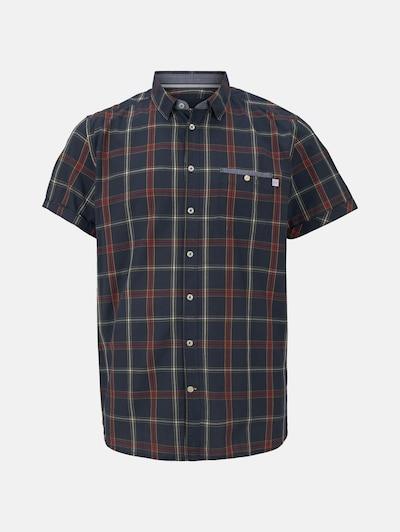 TOM TAILOR Men Plus Kurzarmhemd in blau / rot, Produktansicht