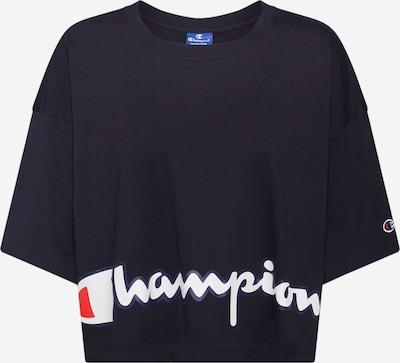 Champion Authentic Athletic Apparel T-Shirt in rot / schwarz / weiß, Produktansicht