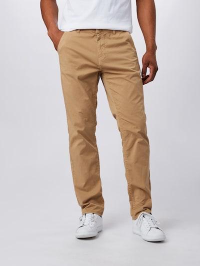 BLEND Kalhoty 'Noos' - písková, Model/ka